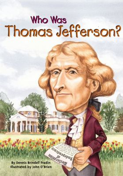 Who Was Thomas Jefferson? [Paperback] Cover