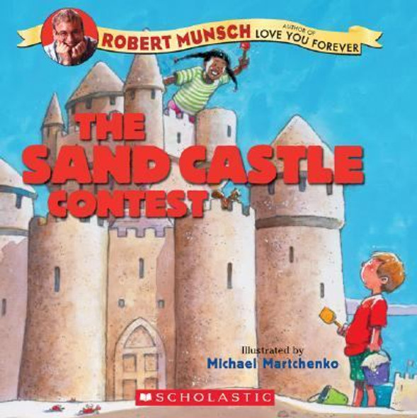 The Sandcastle Contest [Picture Book] Cover