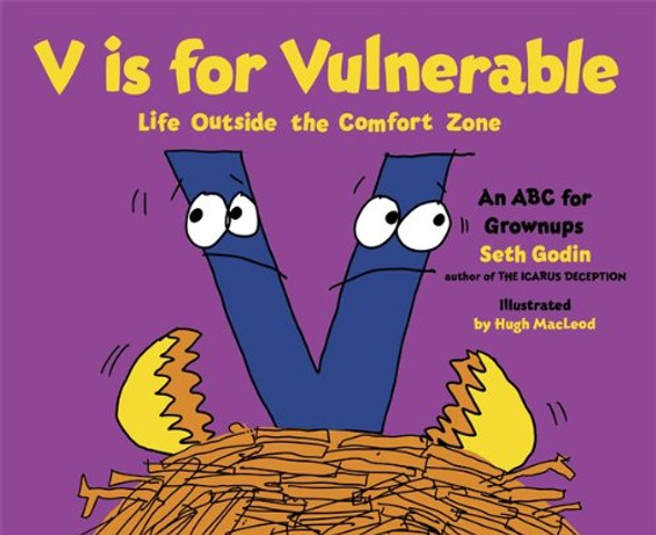 V Is for Vulnerable: Life Outside the Comfort Zone [Hardcover] Cover