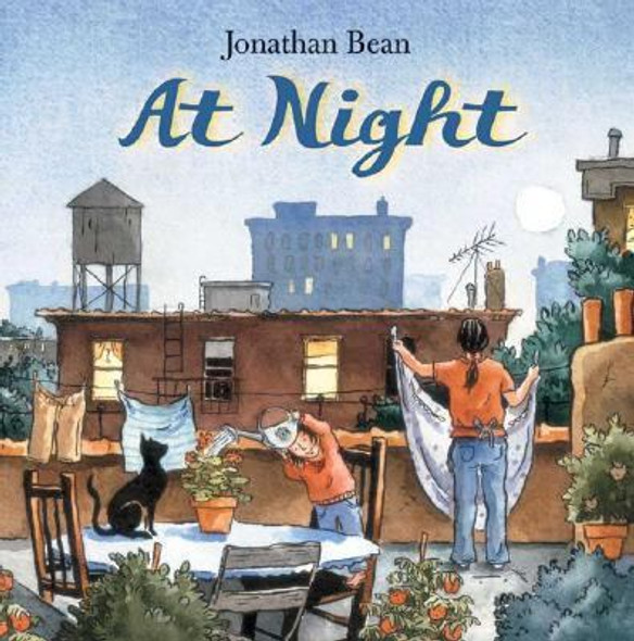 At Night [Hardcover] Cover