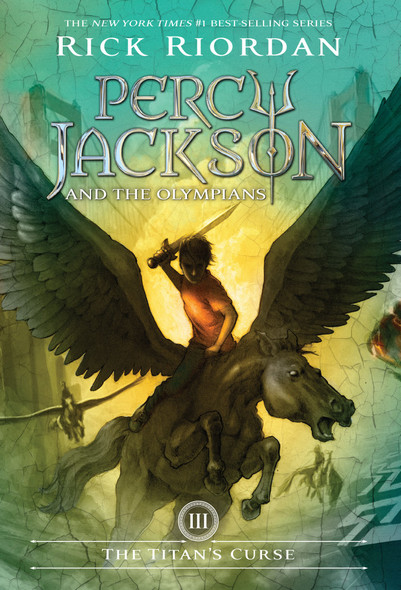 The Titan's Curse (Percy Jackson and the Olympians, Book 3) [Paperback] Cover