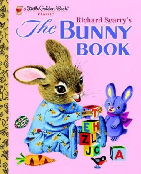 The Bunny Book (Little Golden Book) [Hardcover] Cover
