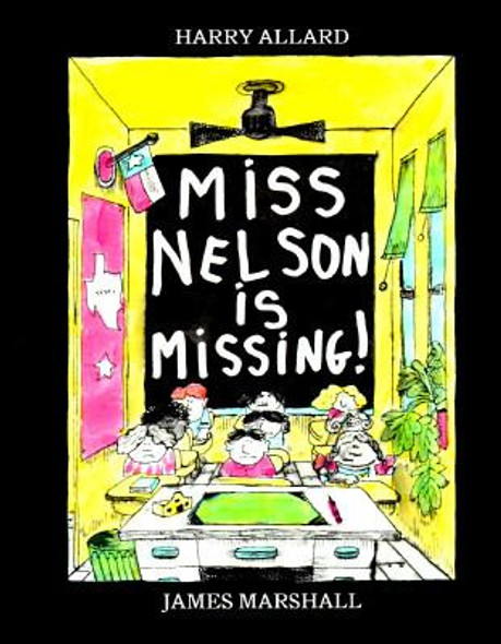 Miss Nelson Is Missing! [Paperback] Cover