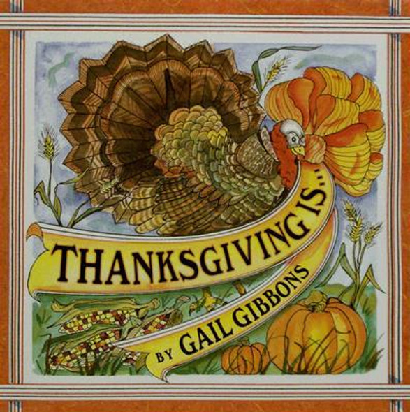 Thanksgiving Is... [Paperback] Cover