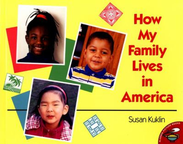 How My Family Lives in America [Picture Book] Cover
