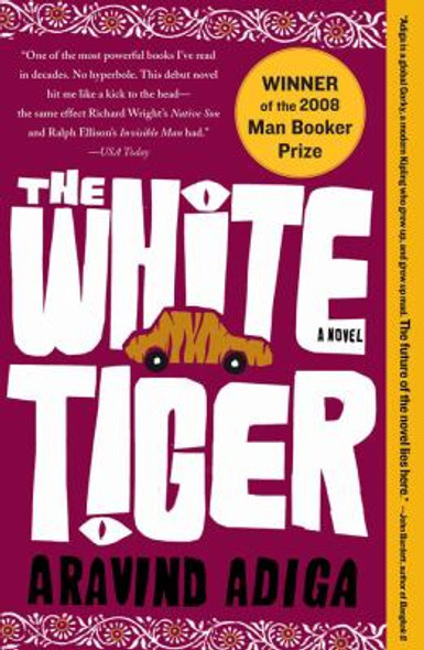 The White Tiger: A Novel [Paperback] Cover