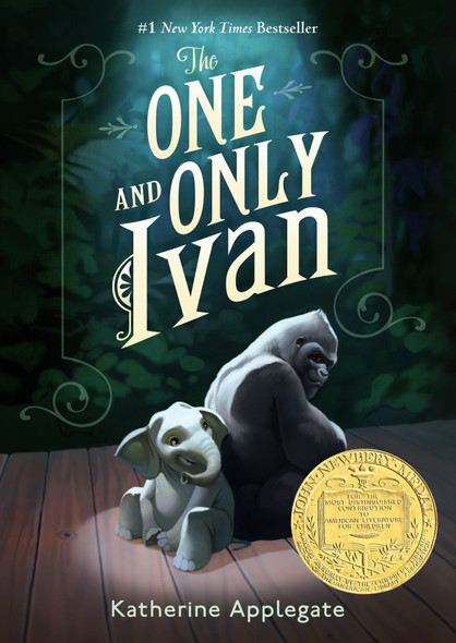 The One And Only Ivan (Turtleback School & Library Binding Edition) Cover