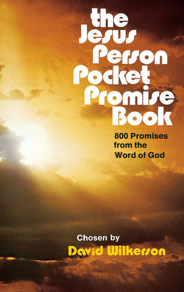 The Jesus Person Pocket Promise Book: 800 Promises from the Word of God [Paperback] Cover