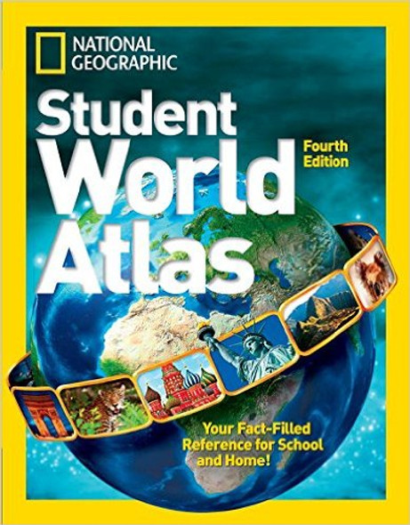 National Geographic Student World Atlas (4TH ed.) [Hardcover] Cover