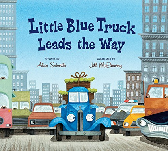 Little Blue Truck Leads the Way Cover