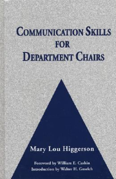 Communication Skills for Department Chairs [Hardcover] Cover