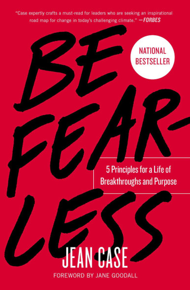 Be Fearless: 5 Principles for a Life of Breakthroughs and Purpose [Paperback] Cover
