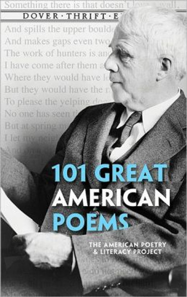 101 Great American Poems (Dover Thrift Editions) Cover