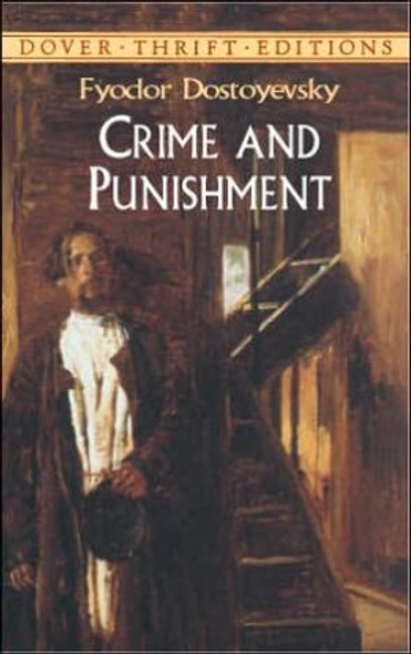 Crime and Punishment ( Dover Thrift Editions ) Cover