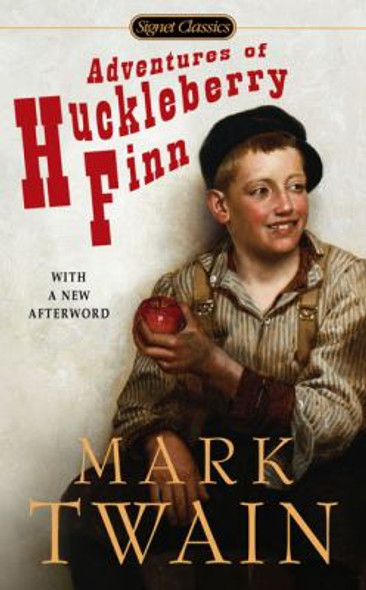 The Adventures of Huckleberry Finn [Paperback] Cover