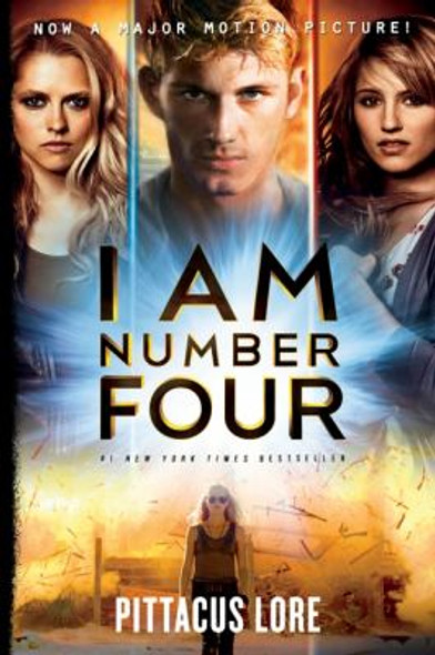 I Am Number Four [Paperback] Cover