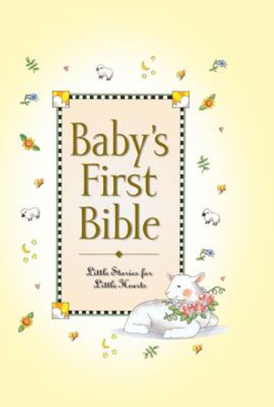 Baby's First Bible [Hardcover] Cover
