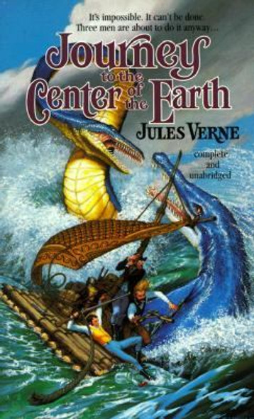 Journey to the Center of the Earth [Mass Market Paperback] Cover