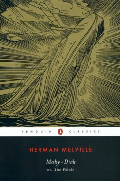 Moby Dick [Paperback] Cover