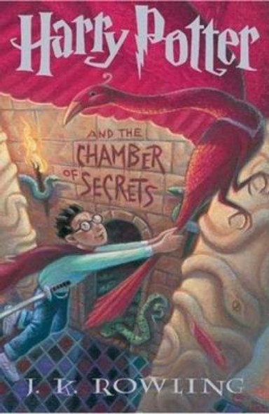 Harry Potter and the Chamber of Secrets [Hardcover] Cover