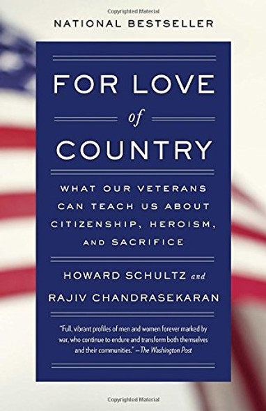 For Love of Country: What Our Veterans Can Teach Us about Citizenship, Heroism, and Sacrifice [Paperback] Cover