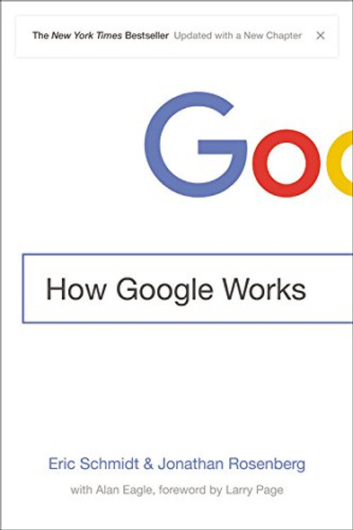 How Google Works [Paperback] Cover