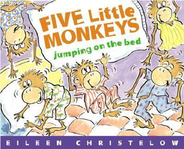 Five Little Monkeys Jumping on the Bed [Hardcover] Cover
