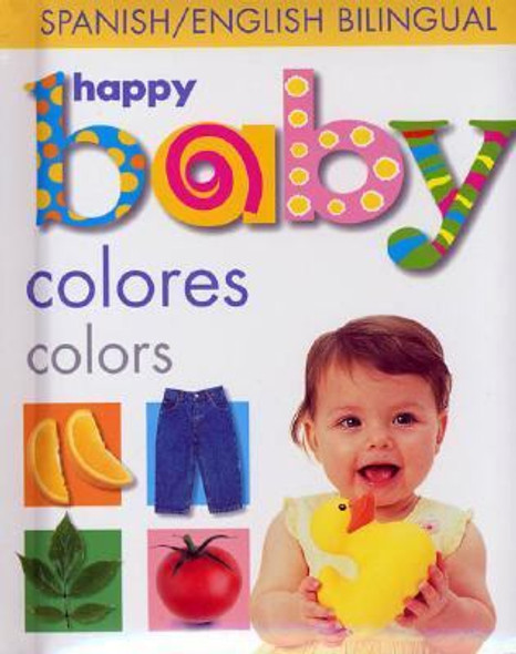 Colores Colors: Spanish/English Bilingual Cover