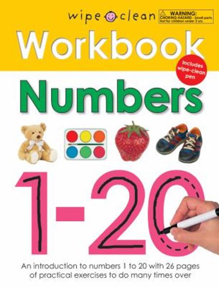 Wipe Clean Workbook Numbers 1-20 [Spiralbound] Cover