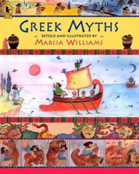 Greek Myths [Paperback] Cover
