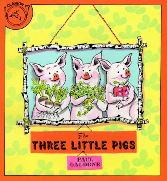 The Three Little Pigs [Paperback] Cover