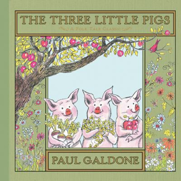 The Three Little Pigs [Picture Book] Cover