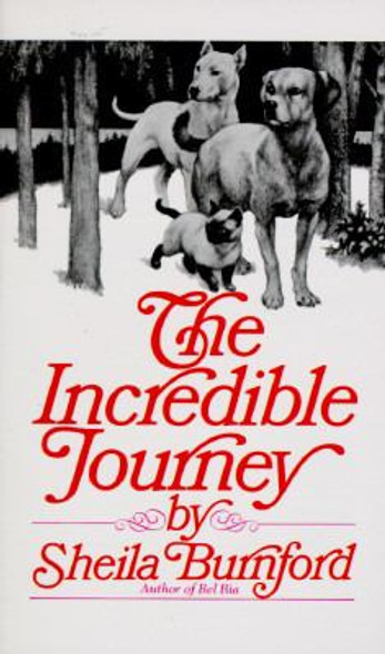 The Incredible Journey [Mass Market Paperback] Cover
