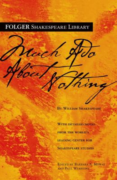 Much Ado about Nothing [Paperback] Cover