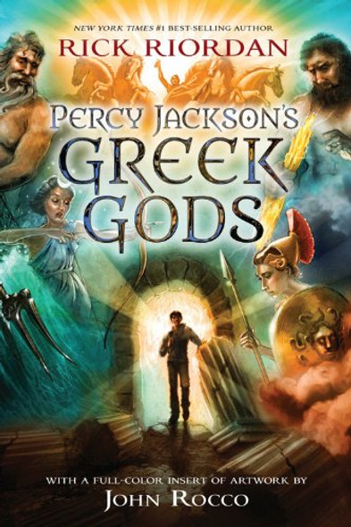 Percy Jackson's Greek Gods [Paperback] Cover