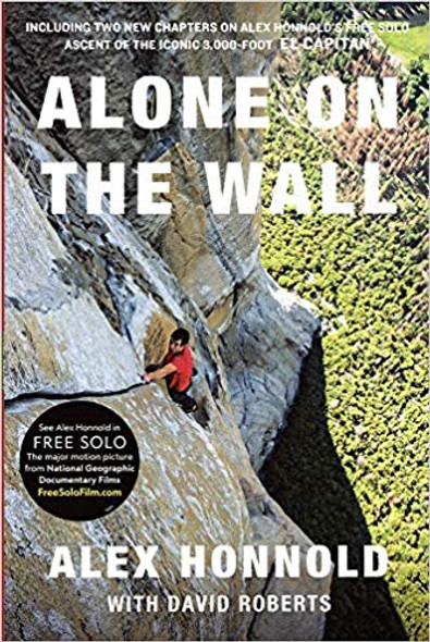 Alone on the Wall [Paperback] Cover