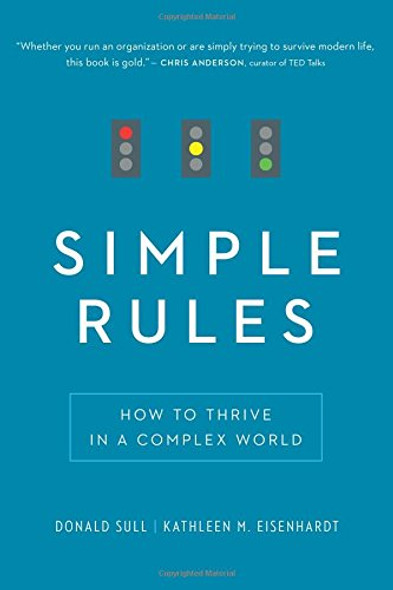 Simple Rules: How to Thrive in a Complex World [Paperback] Cover