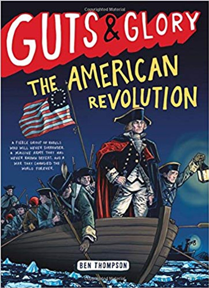 Guts & Glory: The American Revolution ( Guts & Glory #4 ) [Hardcover] Cover