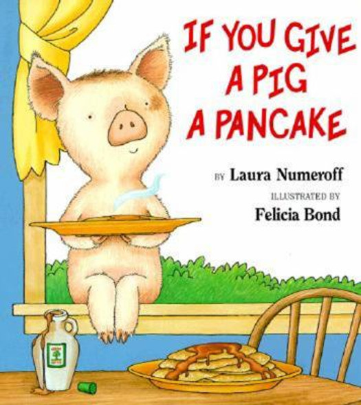 If You Give a Pig a Pancake ( Big Book ) Cover