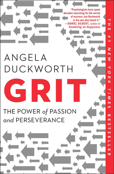 Grit: The Power of Passion and Perseverance [Paperback] Cover