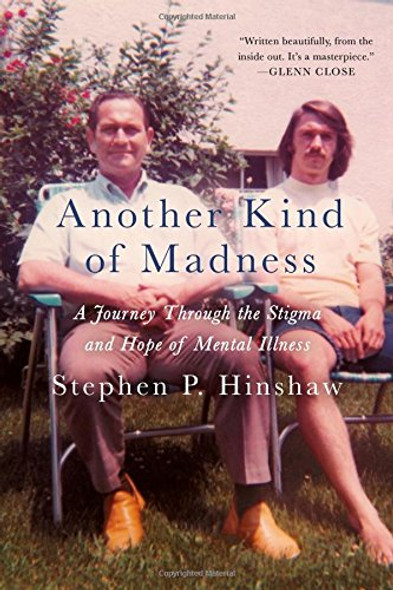Another Kind of Madness: A Journey Through the Stigma and Hope of Mental Illness [Hardcover] Cover