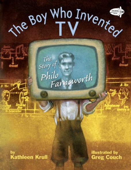 The Boy Who Invented TV: The Story of Philo Farnsworth [Paperback] Cover