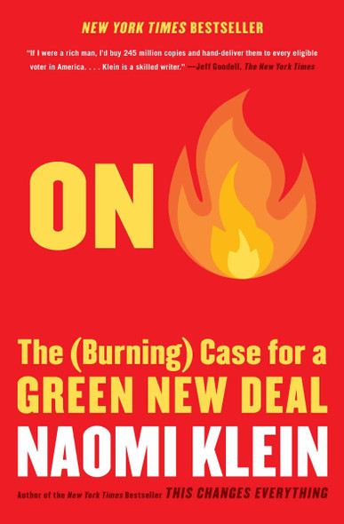 On Fire: The (Burning) Case for a Green New Deal [Paperback] Cover