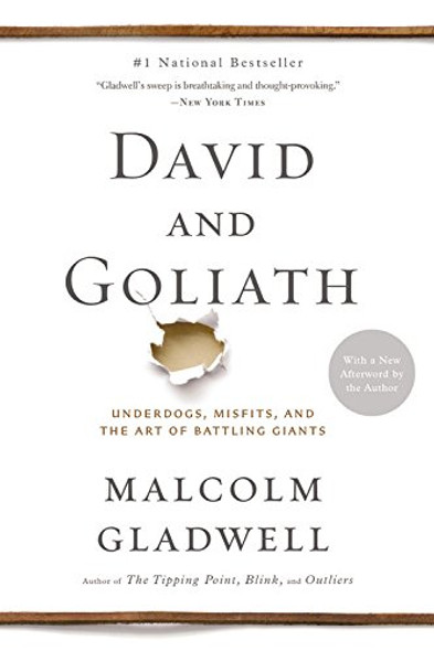 David and Goliath: Underdogs, Misfits, and the Art of Battling Giants [Paperback] Cover