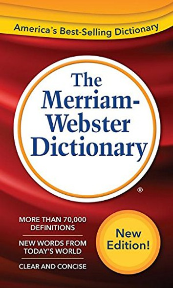 The Merriam-Webster Dictionary [Mass Market Paperback] Cover