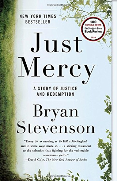 Just Mercy: A Story of Justice and Redemption [Paperback] Cover