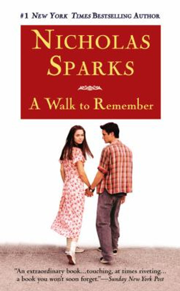 A Walk to Remember [Mass Market Paperback] Cover