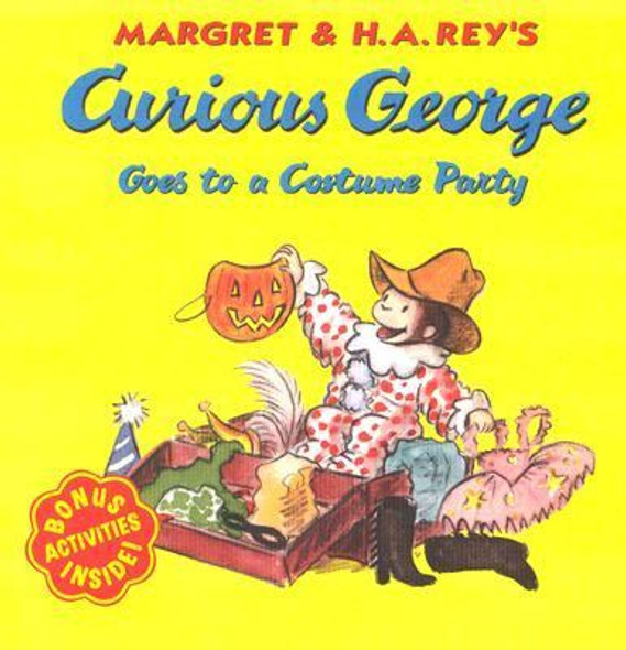 Curious George Goes to a Costume Party Cover