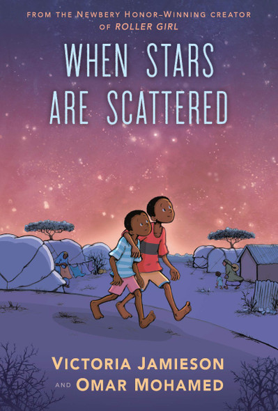 When Stars Are Scattered [Paperback] Cover