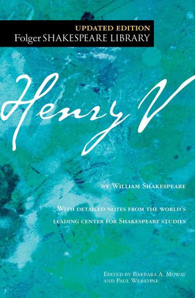 Henry V (Folger Shakespeare Library) [Paperback] Cover